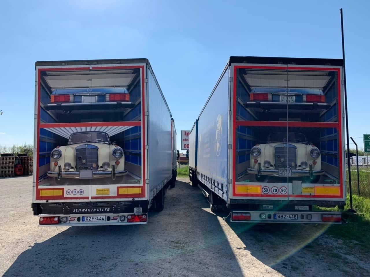 Kamion fólizás